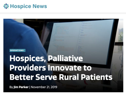 Hospices, Palliative Providers Innovate to Better Serve Rural Patients